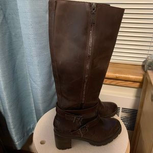 Ugg Leather Brown Boots